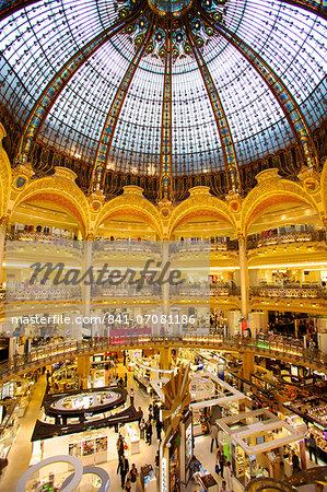 Galeries Lafayette, Paris, France, Europe
