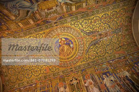 Mosaic, Kaiser Wilhelm Memorial Church, Berlin, Germany, Europe