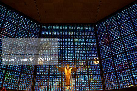Kaiser Wilhelm Memorial Church, Berlin, Germany, Europe
