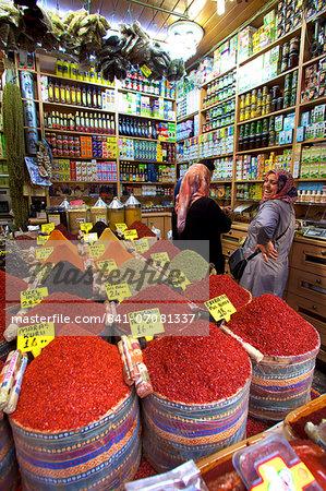 Spice Bazaar, Istanbul, Turkey, Europe