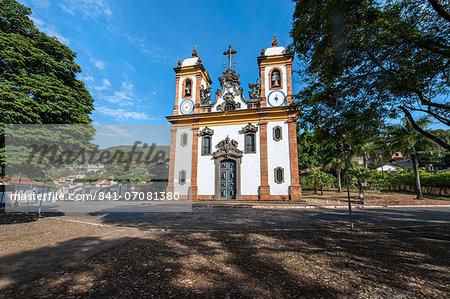 Nossa Senhora do Carmo Church, Sabara, Belo Horizonte, Minas Gerais, Brazil, South America
