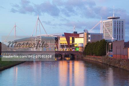Millennium Stadium, Cardiff, Wales, United Kingdom, Europe