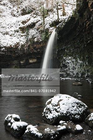 Sgwd Gwladus, Brecon Beacons National Park, Powys, Wales, United Kingdom, Europe