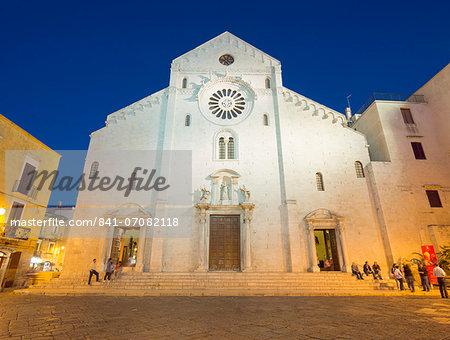 Bari Cathedral, Bari, Puglia, Italy, Europe
