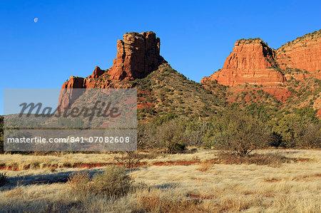 Red Rock formations in Sedona, Arizona, United States of America, North America