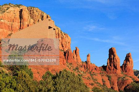Chapel of the Holy Cross, Sedona, Arizona, United States of America, North America