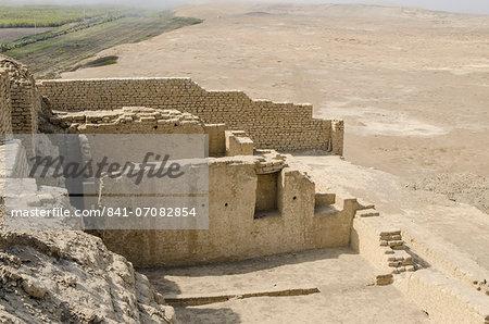 El Brujo Archaeological Complex near Trujillo, Peru, South America