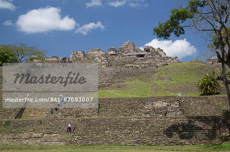 Tonina Archaeological Zone, Chiapas, Mexico, North America