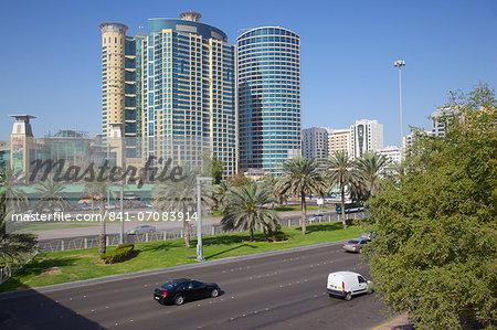 Grand Millennium Hotel and Al Wahda Mall, Abu Dhabi, United Arab Emirates, Middle East