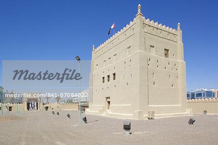 Al Murabbaa Heritage Fort, Al Ain, Abu Dhabi, United Arab Emirates, Middle East