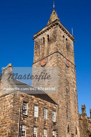 St. Salvators University Chapel, University of St. Andrews, Fife, Scotland, United Kingdom, Europe