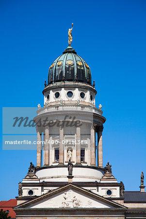 French cathedral at Gendarmenmarkt in Berlin