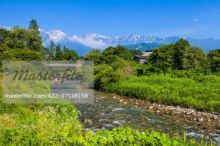 Hakuba mountain range, Nagano Prefecture