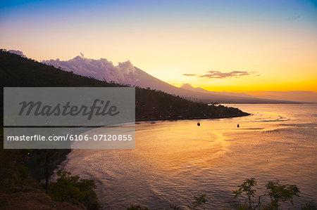 Landascape in  Bali.