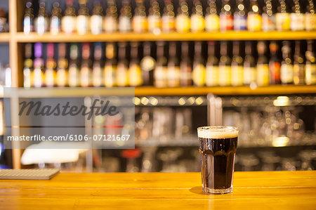 beer in pub