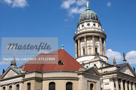 French Cathedral, Gendarmenmarkt, Berlin, Germany