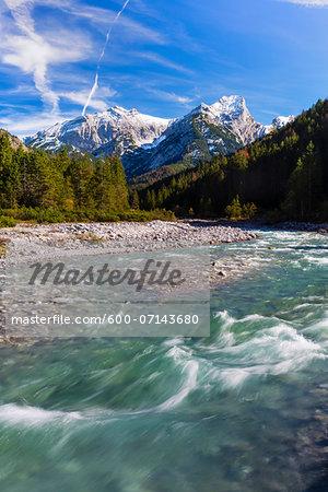 Rissbach in Karwendel Mountains, Austria