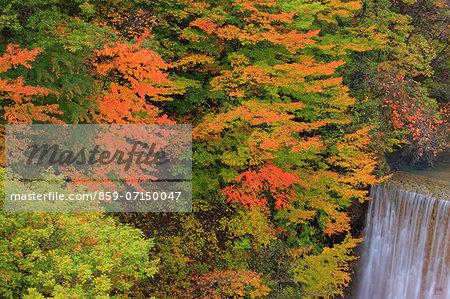 Matsukawa Gorge, Iwate, Japan