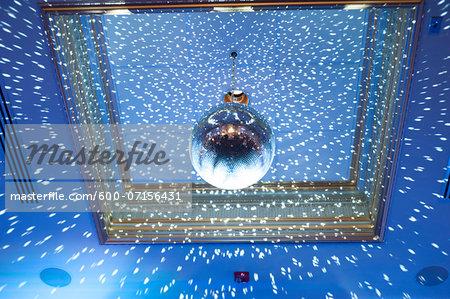 Disco Ball on Ceiling, Toronto, Ontario, Canada