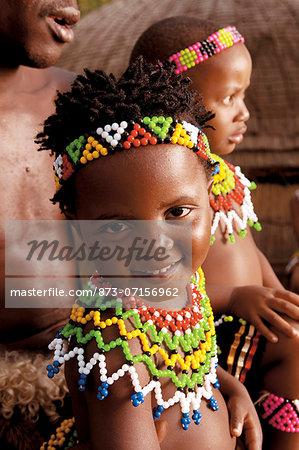 Zulu children, Shakaland