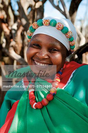 Pedi Woman, Legends Lodges Entabeni Safari Conservancy