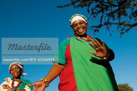 Pedi Woman dancing, Legends Lodges Entabeni Safari Conservancy