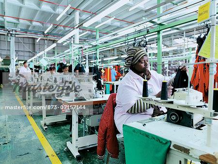 Bibette Clothing Manufacture Factory.