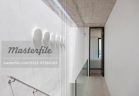 Corridor in modern house
