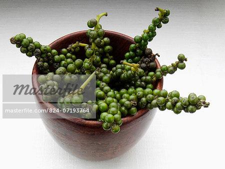 Thai green peppercorns