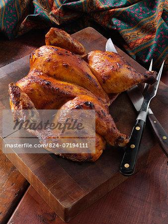 Whole Spatchcocked chicken Piri Piri