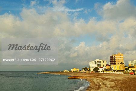 Rhodes City beach, Rhodes, Dodecanese, Aegean Sea, Greece, Europe