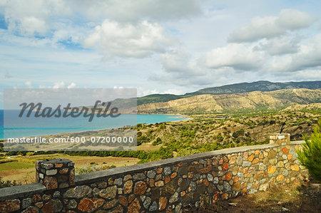 View of Apolakkia Bay, Rhodes, Dodecanese, Aegean Sea, Greece, Europe