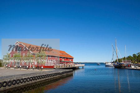 Kristiansand harbor, Vest-Agder, Sorlandet, Norway, Scandinavia, Europe