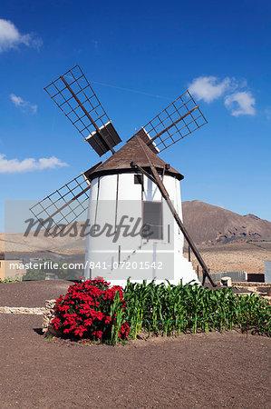 Mill Museum (Centro de Interpretacion de los Molinos), Tiscamanita, Fuerteventura, Canary Islands, Spain, Europe