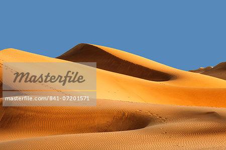 Sand dunes of Maspalomas at sunset, Maspalomas, Gran Canaria, Canary Islands, Spain, Atlantic, Europe