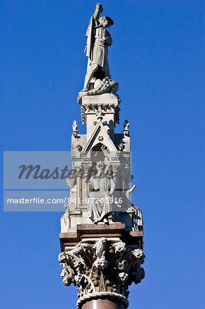 Westminster School Memorial outside Westminster Abbey, London, United Kingdom