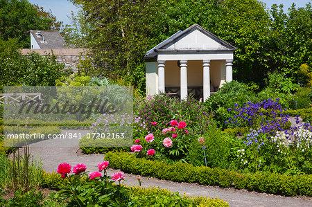 Physic Garden, Cowbridge, Vale of Glamorgan, Wales, United Kingdom, Europe