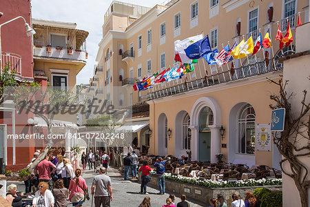The Island of Capri, Campania, Italy, Europe