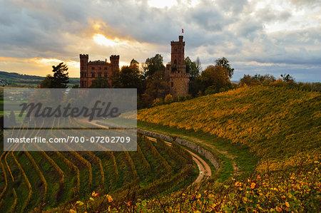 Ortenberg Castle, Ortenberg, Ortenau, Baden-Wuerttemberg, Germany