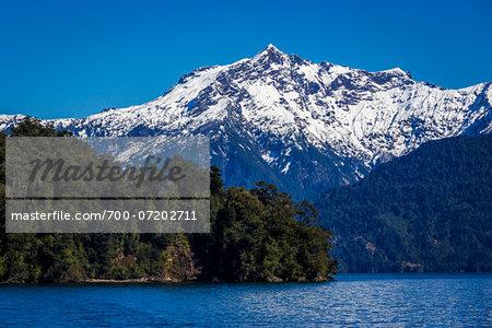Lake Todos los Santos, Parque Nacional Vicente Perez Rosales, Patagonia, Chile