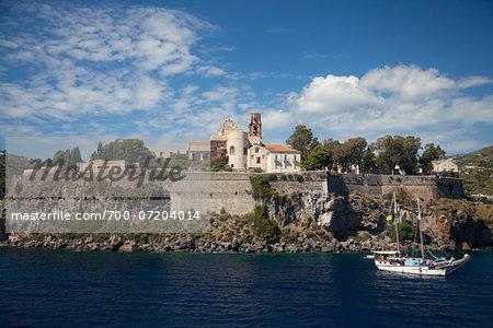 Lipari Castle, Lipari, Aeolian Islands, Italy