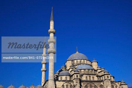 New Mosque (Yeni Camii), Istanbul, Turkey