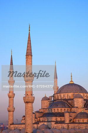 Blue Mosque (Sultan Ahmet Camii), UNESCO World Heritage Site, Istanbul, Turkey, Europe