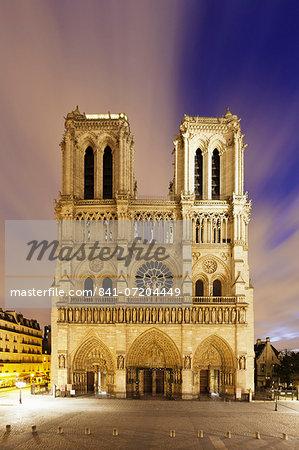 Notre Dame, Paris, Ile de France, France, Europe