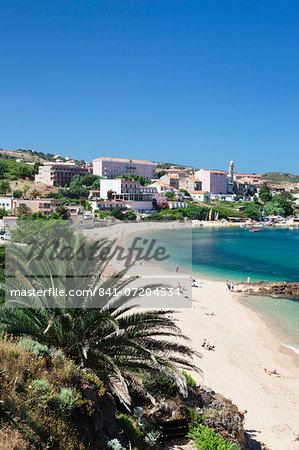 Propriano, Gulf of Valinco, Corsica, France, Mediterranean, Europe