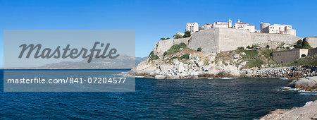 Citadel, Calvi, Balagne, Corsica, France, Mediterranean, Europe