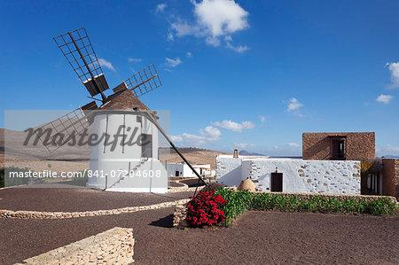 Mill Museum (Centro de Interpretacion de los Molinos), Tiscamanita, Fuerteventura, Canary Islands, Spain, Atlantic, Europe