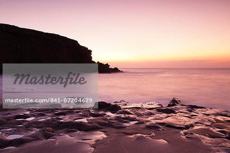 Playa de la Pared, La Pared, Fuerteventura, Canary Islands, Spain, Atlantic, Europe