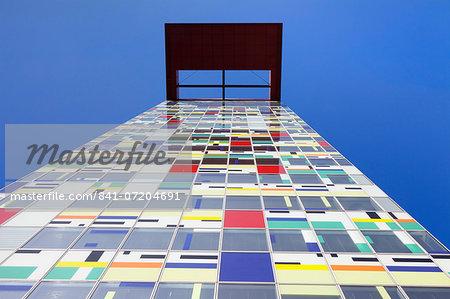 Colorium building by William Alsop, Media Harbour (Medienhafen), Dusseldorf, North Rhine Westphalia, Germany, Europe