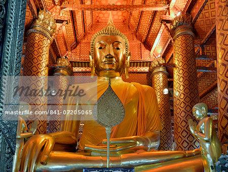 Wat Phanan Choeng, Ayutthaya, UNESCO World Heritage Site, Thailand, Southeast Asia, Asia